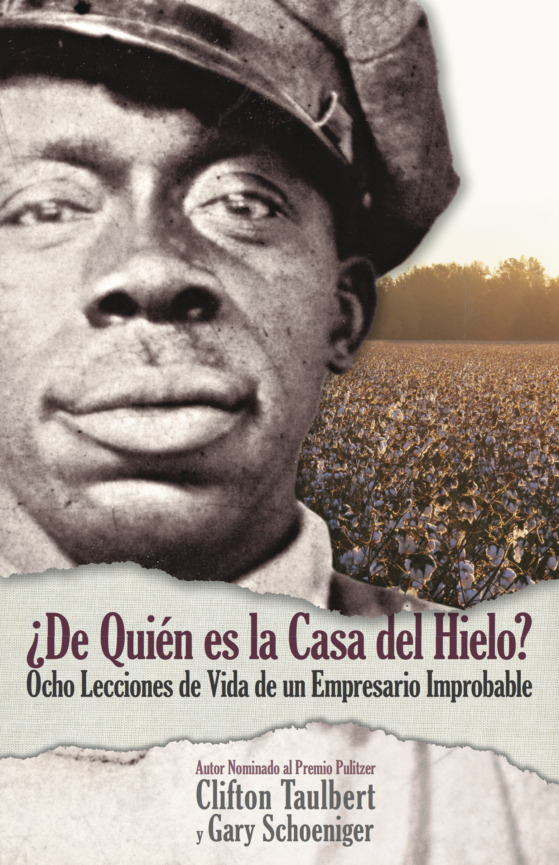 Who Owns the Ice House? Book Cover - Spanish copy
