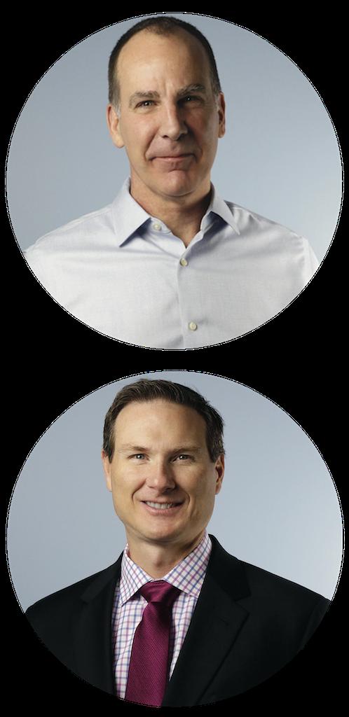 Gary Schoeniger & Rob Herndon Headshots for Facilitator Training