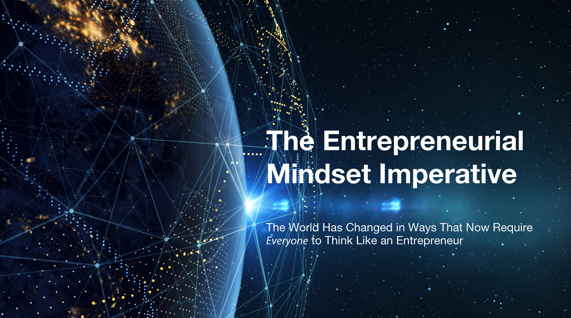 Entrepreneurial Mindset Imperative Cover